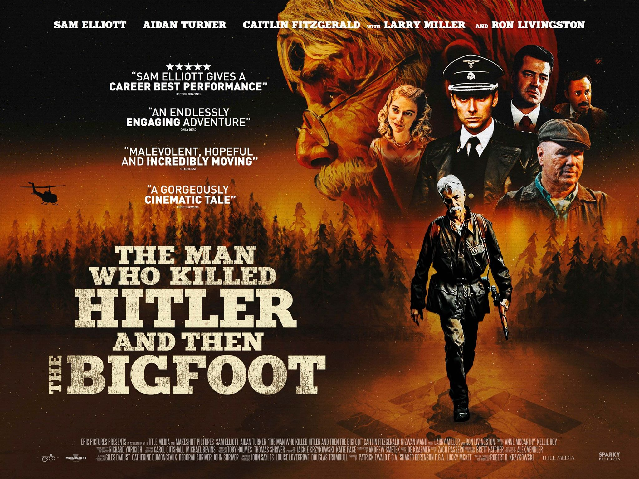 The Man Who Killed Hitler And Then The Bigfoot (2018) - A Review