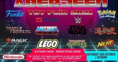 Aberdeen Toy Fair – Sat 16th October